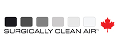 Surgically Clean Air Logo linking to Website